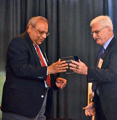 Dr. Govind Bharwani (left)-2015